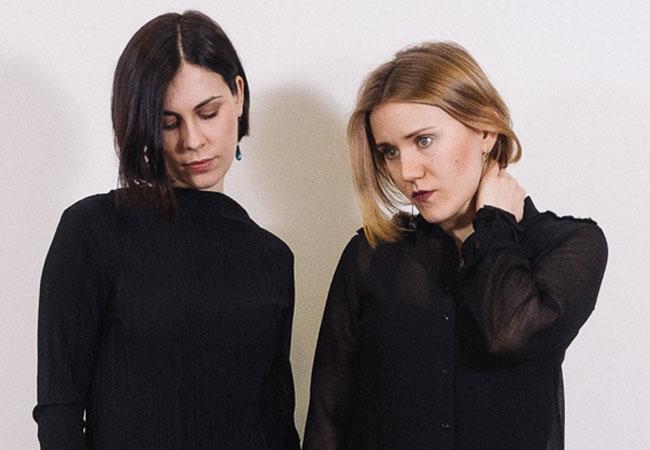 Daria Marshinina und Linda Leine